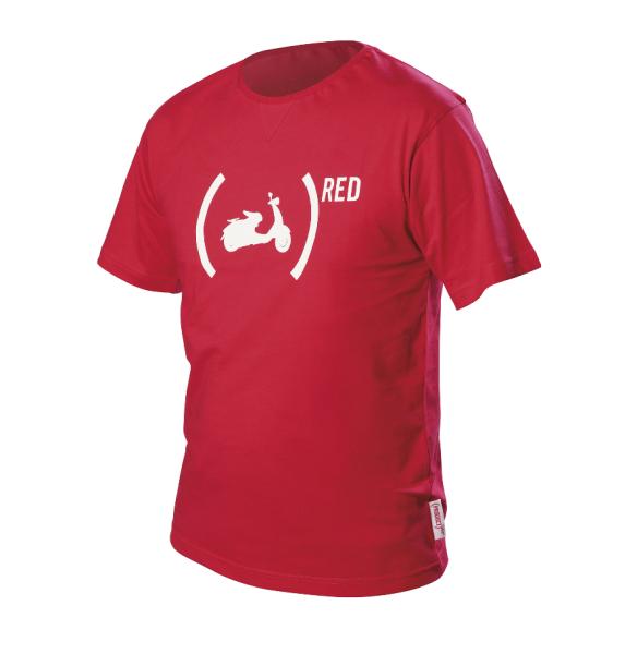 Vespa T-Shirt 946 (RED)