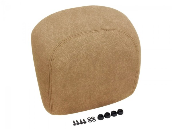 Original Vespa pad arrière, beige lisse