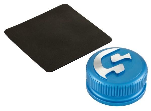 Bouchon réservoir pour Vespa, bleu mat