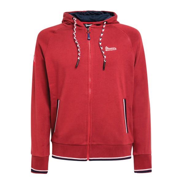 Vespa Modernist Sweatshirt homme rouge