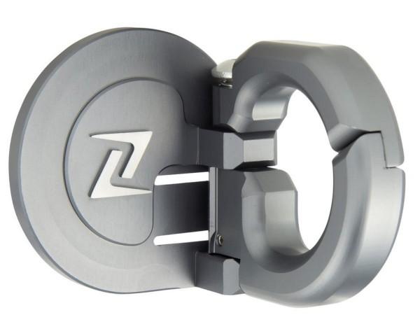 Crochet à bagage pour Vespa GTS/GTS Super/GTV/GT 60/GT/GT L/S 50-300ccm, gris mate