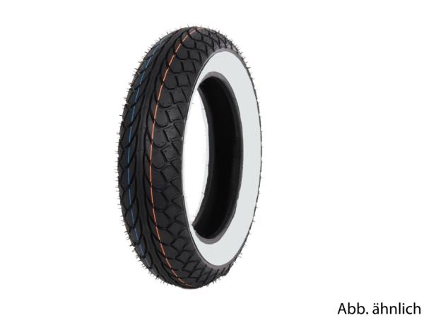 Pneu Mitas 100/80-10, 53L, TL, pneu à flanc blanc, MC22, avant
