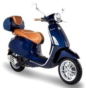 Luxury Line - poignée cuir pour Vespa Primavera