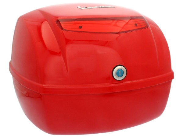 Original Top-case Vespa LX/ S/ PX rouge Dragon 894