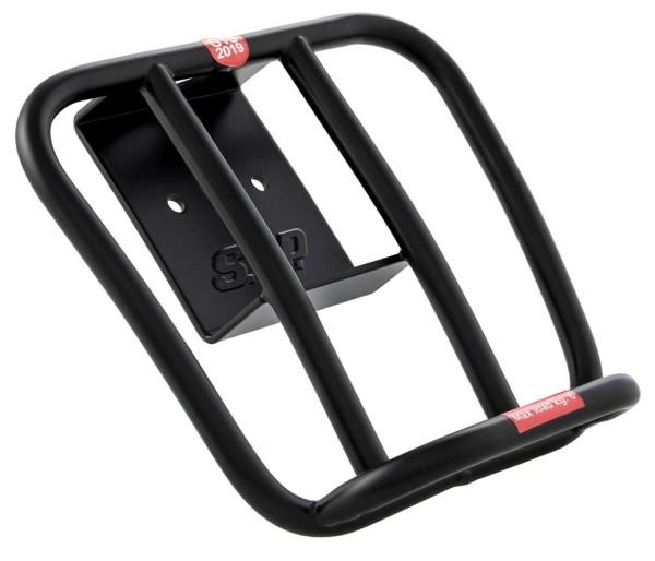 """Porte-bagage arrière """"70s"""" pour Vespa GTS / GTS Super HPE 125-300 ('19-), noir mat"""