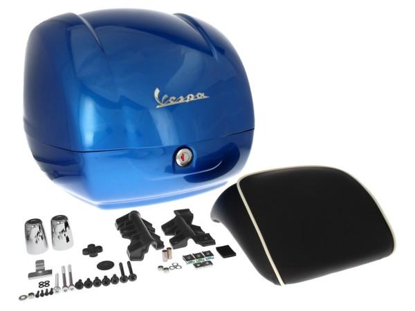 Original Top-case Vespa GTS Super bleu Gaiola 261/A