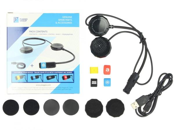 Système de communication Bluetooth Vespa / Piaggio / Aprilia / Moto Guzzi