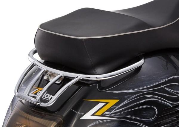 Porte-bagage arrière pour Vespa GTS/GTV/GT 125-300ccm 4T LC, chrome
