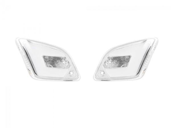 Jeu de clignotants LED pour Vespa GT, GTL, GTV, GTS 125-300 arrière, teinté