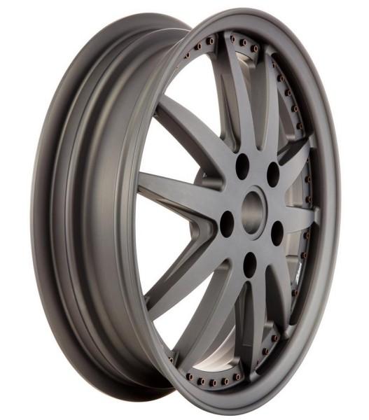 Jante Sport avant/arrière pour Vespa GTS/GTS Super/GTV/GT 60/GT/GT L/946 125-300ccm, gris mate