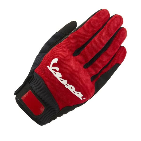 Vespa Gants Color rouge