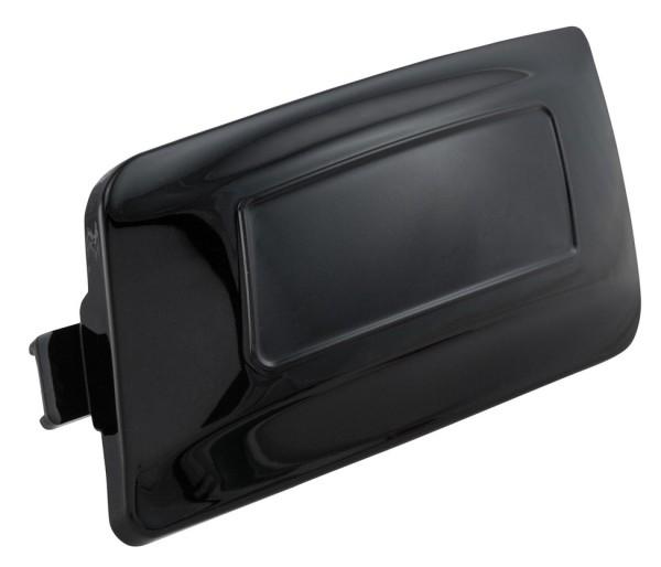 Couverture couvercle de variateur LEADER pour Vespa Primavera/Sprint/GTS/GTS Super, noir brillant
