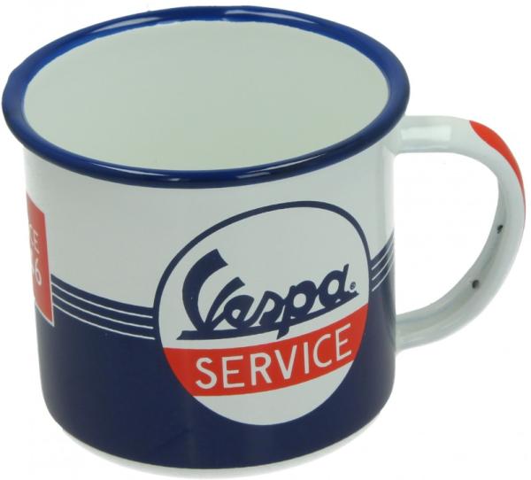 Vespa tasse en émail Vespa Service