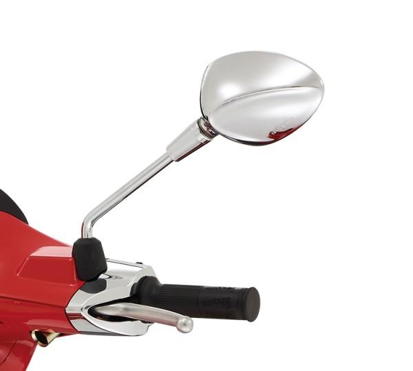 Rétroviseur gauche chromé pour Vespa Sprint 50-150ccm 2T / 4T