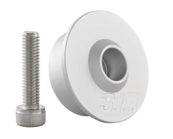 Kit de montage pour rétroviseur d'extrémité du guidon sans embouts de guidon, MK II, argent