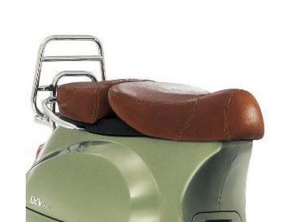 Banquette Vespa 2 places en cuir véritable pour LX 50-150cc Touring, ET2 / ET4 / LX / LXV / S 50-150cc-