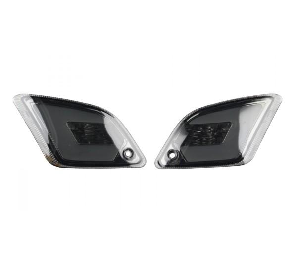 LED Blinkersatz hinten, getönt für Vespa GT, GTL, GTV, GTS 125-300