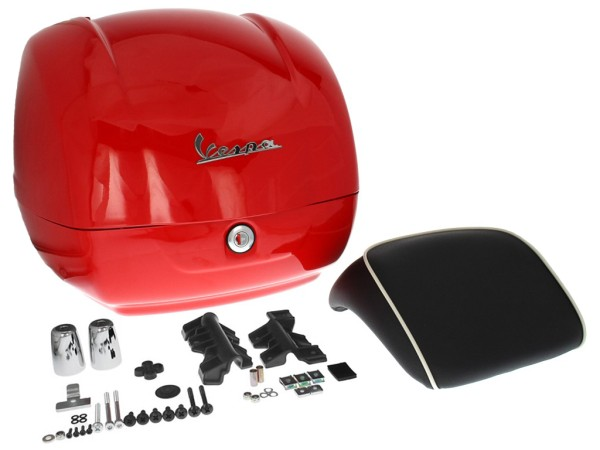 Original Top-case Vespa GTS Super rouge Dragon 894 (à partir de 2014)