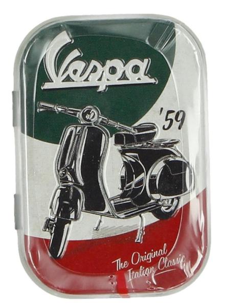 Vespa pilulier The Italian Classic, fer-blanc