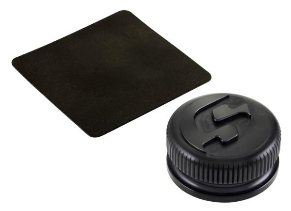 Bouchon réservoir pour Vespa, noir mat