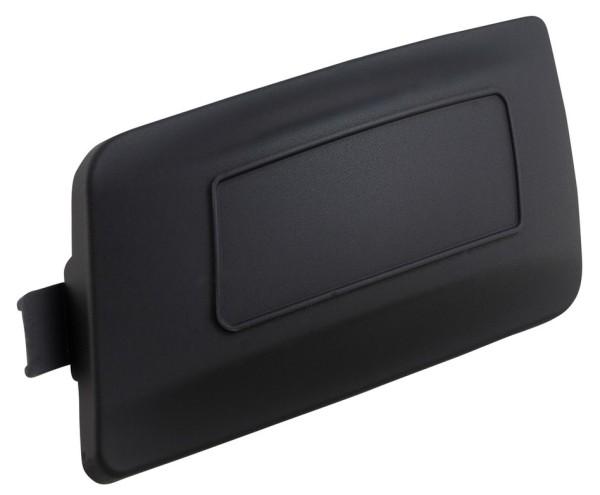 Couverture couvercle de variateur LEADER pour Vespa Primavera/Sprint/GTS/GTS Super, noir mat