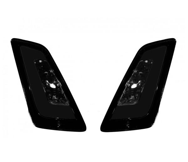 LED Blinkersatz vorne, getönt für Vespa GT, GTL, GTV, GTS 125-300