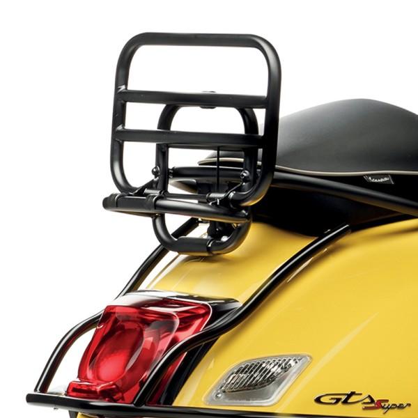 Porte-bagages arrière pliant pour top case Vespa GTS