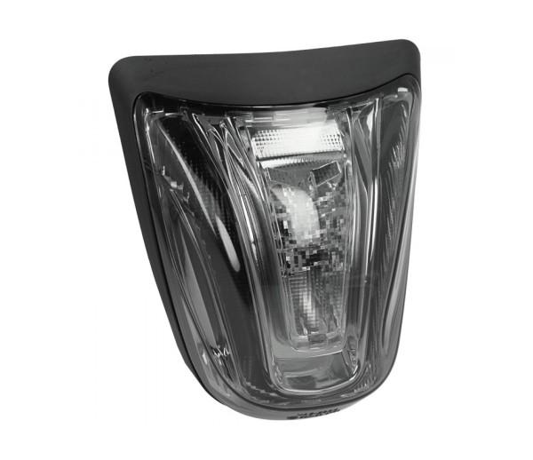 Feu arrière LED noir, homologué E pour Vespa Primavera / Sprint