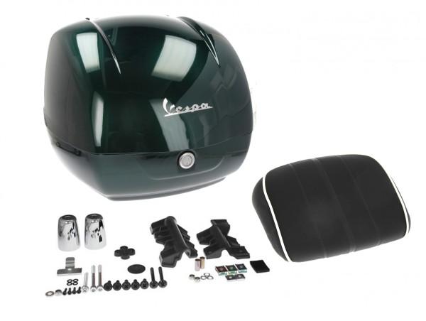 Topcase pour Vespa GTS Racing Sixties - vert, vert métallisé 349 / A, 37 l