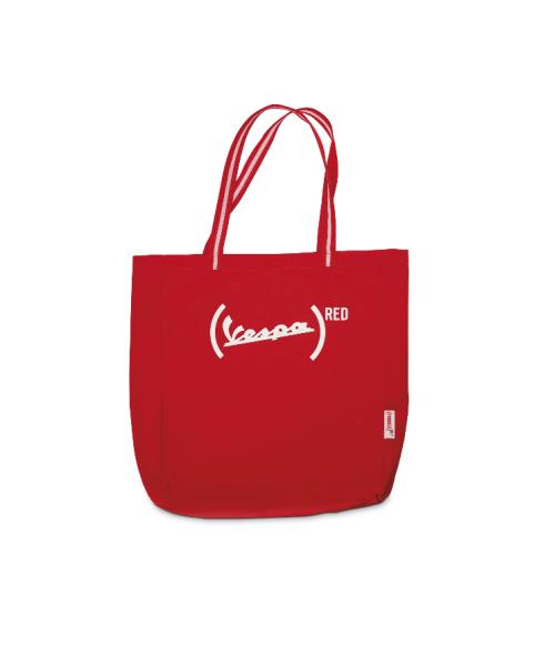 Vespa sac à provisions en textile 946 (RED)