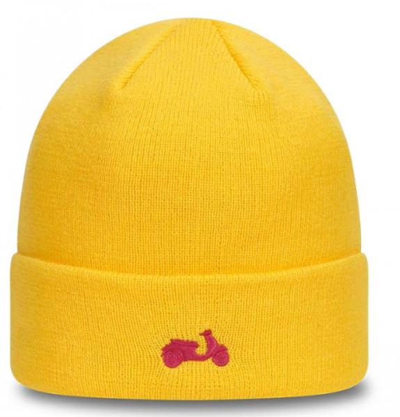 Chapeau tricoté Vespa NEW ERA jaune