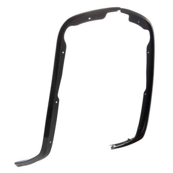 Bouclier de jambe à tube unique noir brillant pour Vespa Primavera / Sprint 50-150ccm