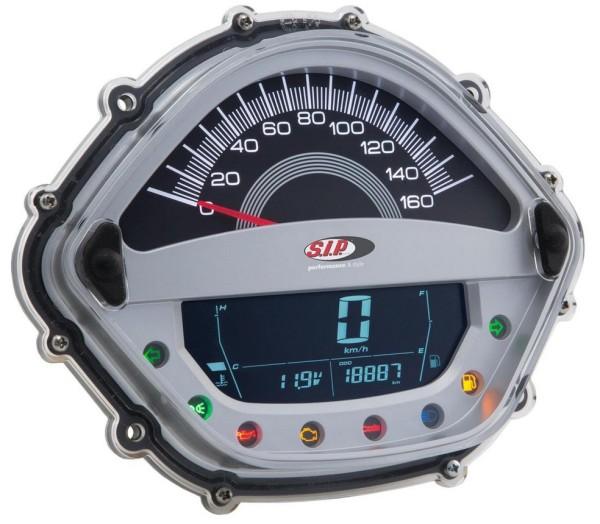Compte-tours/Compteur de vitesse pour Vespa GT/GT L 125/200ccm/ GTS 125ccm, argent