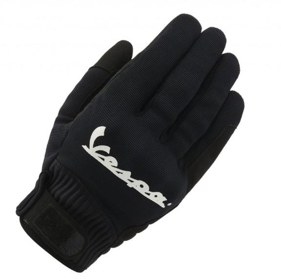 Vespa Gants Color noirs