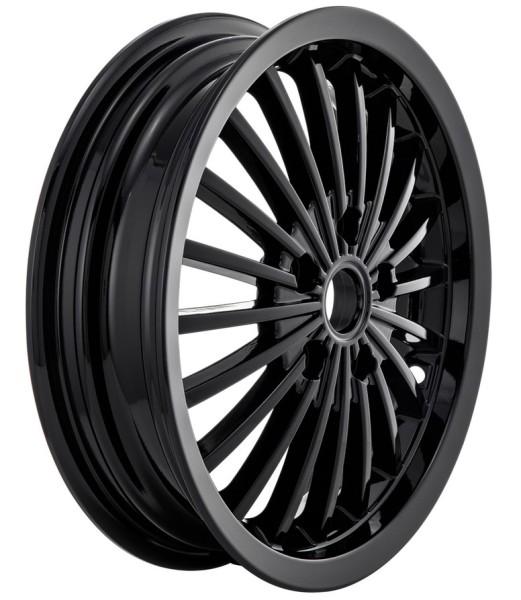 Jante avant/arrière pour Vespa GTS/GTS Super/GTV/GT 60/GT/GT L 125-300ccm, noir brillant