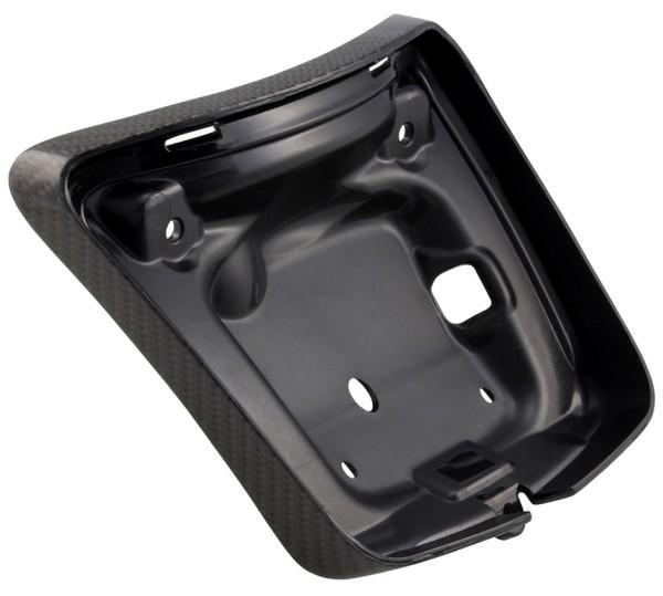 Cadre feu arrière pour Vespa GTS/GTS Super/GTV 125-300ccm ('14-'18), gaine carbone