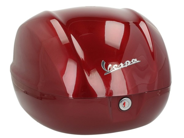 Top case d'origine 32 l. pour Vespa Primavera / GTS Rouge Vignola 880 / A