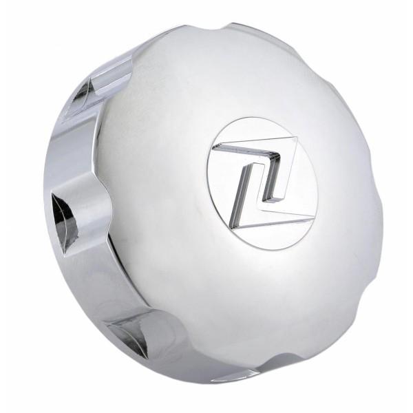 Bouchon de réservoir chromé, Zelioni pour Vespa ET4 / LX / LXV / S / Primavera / Sprint / GTS / GTS Super / GTV / GT