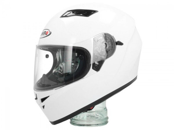 Shiro Casque Integral, SH600, Monocolor, blanc