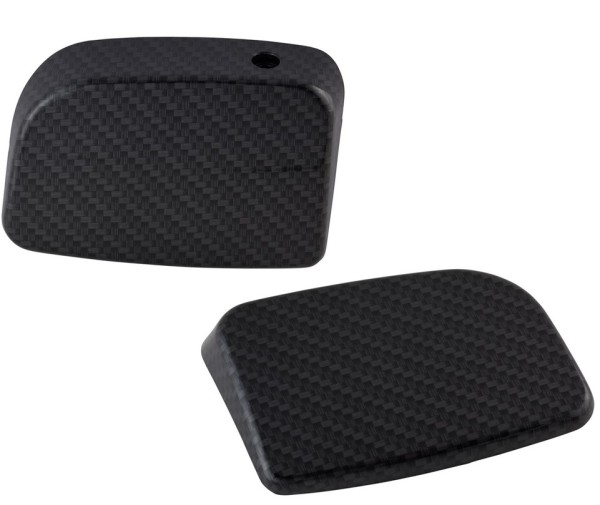 Couverture maitre cylindre de frein pour Vespa GTS/GTS Super/GT/GT L 125-300ccm, gauche et droite, apparence carbone