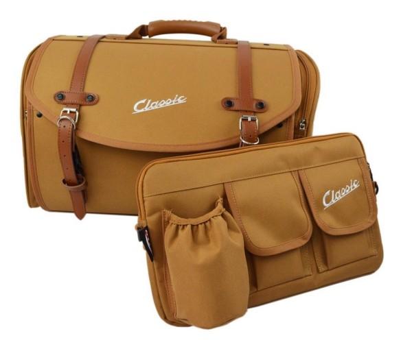 """Set de sac """"Classic"""" pour Vespa, brun"""