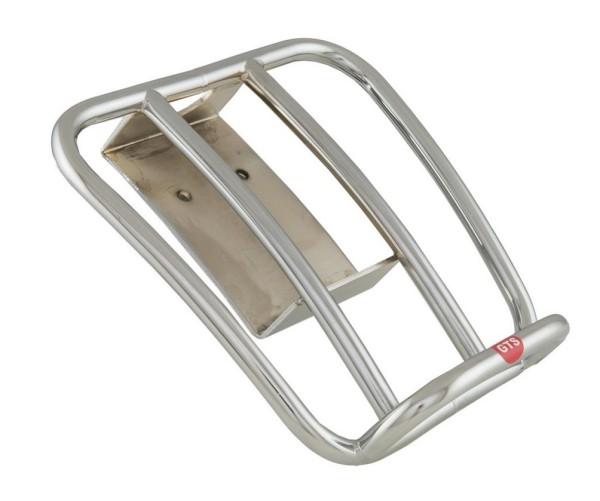 """Porte-bagage arrière """"70s"""" pour Vespa GTS/GTV/GT 125-300ccm 4T LC, chrome"""