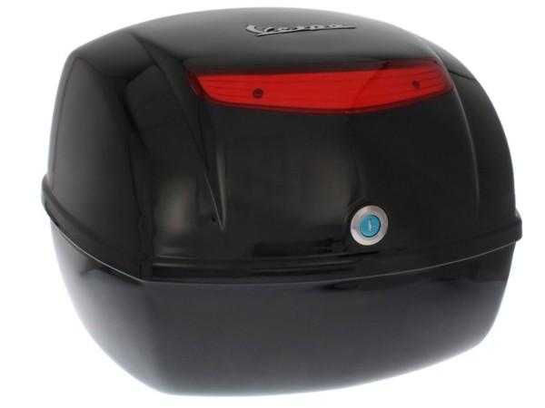 original top case Vespa LX - nero cosmo / vulcano 98/A