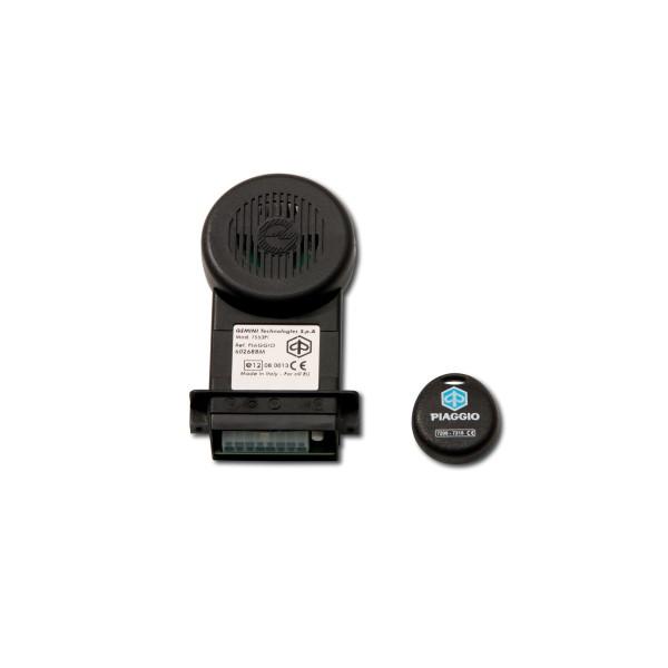 Original Système d'alarme Piaggio E-Lux compact