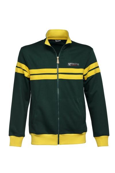 Veste sweat Vespa, Racing Sixties 60s vert / jaune