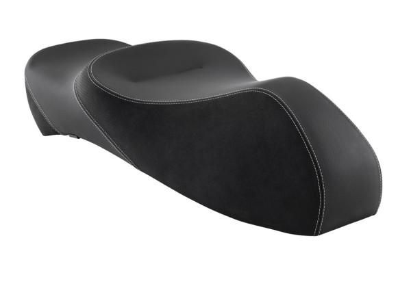 Selle biplace Touring pour Vespa GTS/GTV/GT 125-300ccm ('03-'13), noir