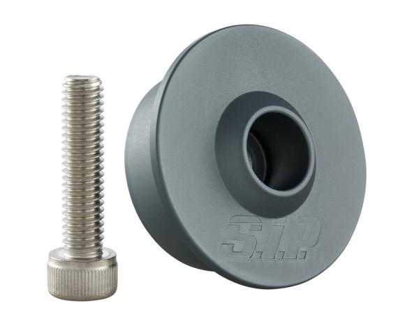 Kit de montage pour rétroviseur d'extrémité du guidon sans embouts de guidon, MK II, gris