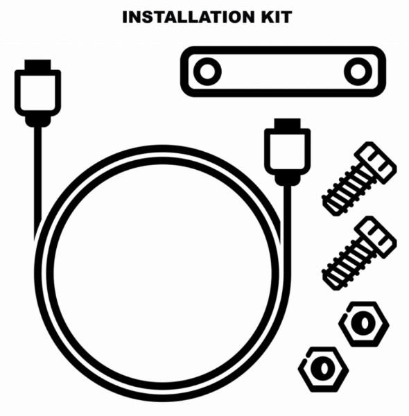 Kit d'installation antivol électronique (1D002554)
