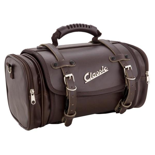 """Petit sac """"Classic"""" pour Vespa - marron foncé, cuir synthétique"""