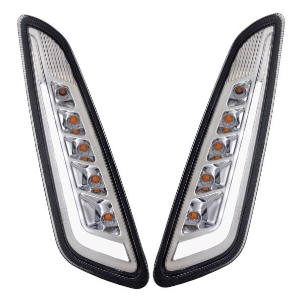 Kit clignotant avant gauche / droite LED teinté pour Vespa Primavera / Sprint 125-150ccm SIP Style
